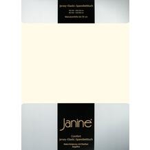 Janine Comfort-Jersey-Spannbettuch Elastic natur Spannbettlaken 200x200
