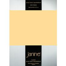 Janine Comfort-Jersey-Spannbettuch Elastic vanille Spannbettlaken 200x200
