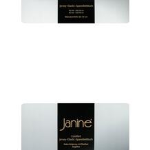 Janine Comfort-Jersey-Spannbettuch Elastic weiß Spannbettlaken 200x200