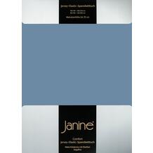 Janine Comfort-Spannbetttuch Comfort-Jersey-Spannbettuch denimblau SpB - 200 X 200