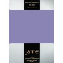 Janine Comfort-Spannbetttuch Comfort-Jersey-Spannbettuch flieder SpB - 200 X 200