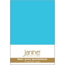Janine Spannbettuch Jersey-Spannbetttuch türkis SpB- 200 X 200
