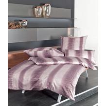 Janine Mako-Satin Messina traube Bettbezug 135x200, 80x80