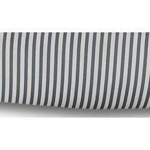 Janine Mako-Satin modern classic grau Kissenbezug 40x40 mit Stehsaum