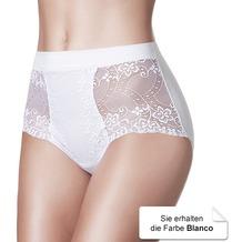 Janira Braga Charm Baumwolle Slip blanco L