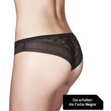 Janira Brasilian Magic Band Slip negro L