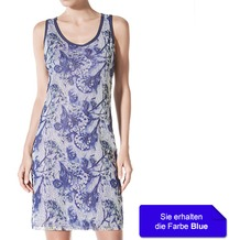 Janira Dress Etosha blue L