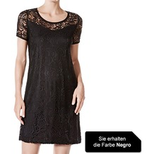 Janira Dress M/c Notre-dame negro L