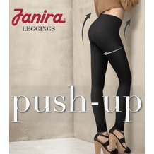 Janira Leggings LEGGINS PUSH-UP Shapewear schwarz L