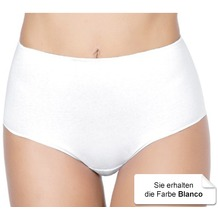 Janira Maxi Perfect-day Baumwolle Slip blanco L