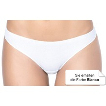 Janira Mini Perfect-day Baumwolle Slip blanco L