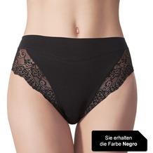 Janira Pack-2 Milano Esencial Pantie negro L