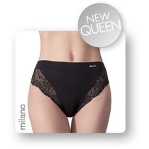 Janira Pack-2 Milano Queen Esencial Panties negro 2XL