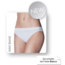 Janira Pack-2 Mini-bond Esencial Panties blanco L