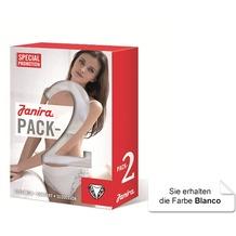 Janira Pack-2 Neri Esencial Panties blanco L