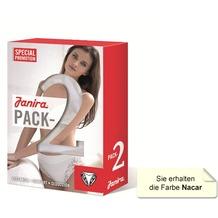 Janira Pack-2 Neri Esencial Panties nacar L