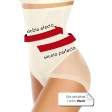 Janira Silueta Forte Se Secrets blanco Shapewear, weiß XXL