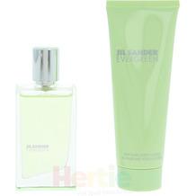 JIL Sander Evergreen Giftset Edt Spray 30ml/ Body Lotion 75ml 105 ml