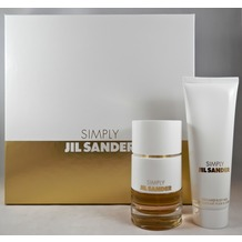 JIL Sander Simply Eau de Toilette + Bodymilk 40 ml + 75 ml