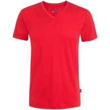 Jockey American T-Shirt V-SHIRT a-red L