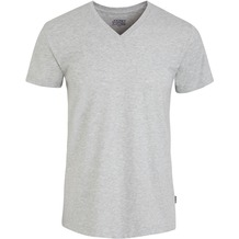 Jockey American T-Shirt V-SHIRT light hea.grau 2XL