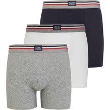 Jockey Boxer Trunk 3er Pack, Marineblau 2XL