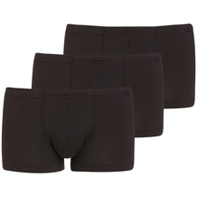 Jockey Cotton + BOXER-SHORT TRUNK-BOXER-SHORT 3PACK black L