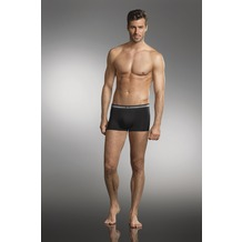 Jockey Cotton Stretch Short Trunk, 3er Pack black 2XL