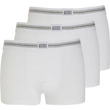 Jockey Cotton Stretch Short Trunk, 3er Pack white 2XL