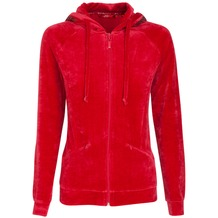Jockey Everyday Loungewear HOODIE lipstick red L/40