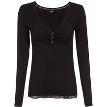 Jockey Everyday Loungewear LONG - SHIRT black L/40
