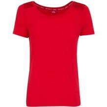 Jockey Everyday Loungewear T-SHIRT lipstick red L/40