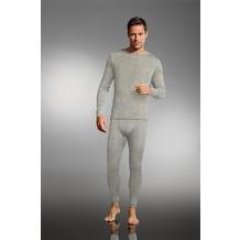 Jockey Merino Thermals Shirt mit langem Arm und geradem Schnitt heather grey S