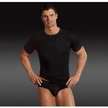 Jockey Microfiber T-Shirt rundhals, gerader Schnitt black S