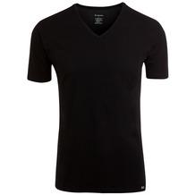 Jockey Modern Stretch V-Ausschnitt T-Shirt, gerader Schnitt black 2XL