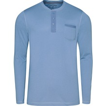 Jockey Night & Day Long Sleeve Henley Shirt denim 102