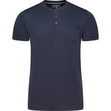 Jockey Night & Day Short Sleeve Henley Shirt navy 2XL
