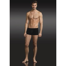 Jockey Premium Cotton Stretch Short Trunk, Webgummibund black S