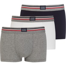 Jockey Short Trunk 3er Pack, Marineblau 2XL