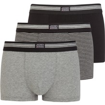 Jockey Short Trunk 3er Pack, Schwarz gestreift 2XL