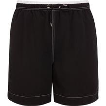 Jockey Swim / Beach Long Short, uni mit Kontrastinnenbund und Kontrastziernähte, 2 Seitennahttaschen und 1 Gesäßtasche (peached), Seitenlänge incl. Bund in Gr. M = 44cm black 3XL