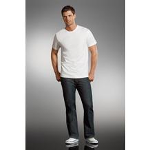 Jockey T-Shirts Rundhals T-Shirt mit geradem Schnitt. white S