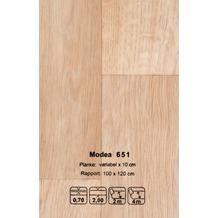 JOKA CV-Belag Modea - Farbe 651 braun 200 cm breit