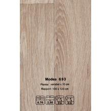 JOKA CV-Belag Modea - Farbe 693 grau 200 cm breit