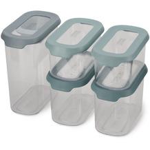 Joseph Joseph CupboardStore™ 5-teiliges Schrank-Aufbewahrungbehälter-Set mit Schaufel - Opal