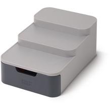 Joseph Joseph CupboardStore™ Kompakter gestufter Organizer mit Schublade – Grau