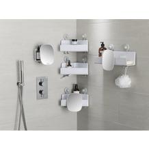 Joseph Joseph EasyStore™ Dusch-Eckablage mit verstellbarem Spiegel - Weiß