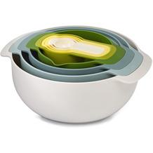 Joseph Joseph Nest 9 Plus - 9-teiliges Essensvorbereitungsset - Opal