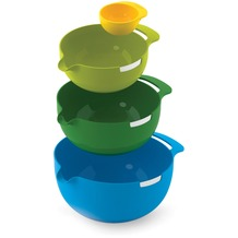 Joseph Joseph Nest Mix - Rührschüssel Set mit 4 Größen - Mehrfarbig