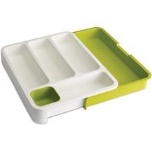 Joseph Joseph Besteckeinsatz für Schublade, weiß-grün